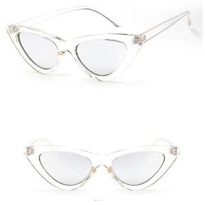 NWT Clear Cat Eye Shades